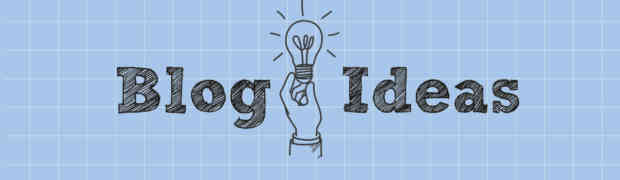 blog post ideas for writers